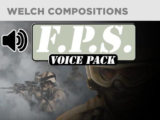 First Person Shooter Voice Pack