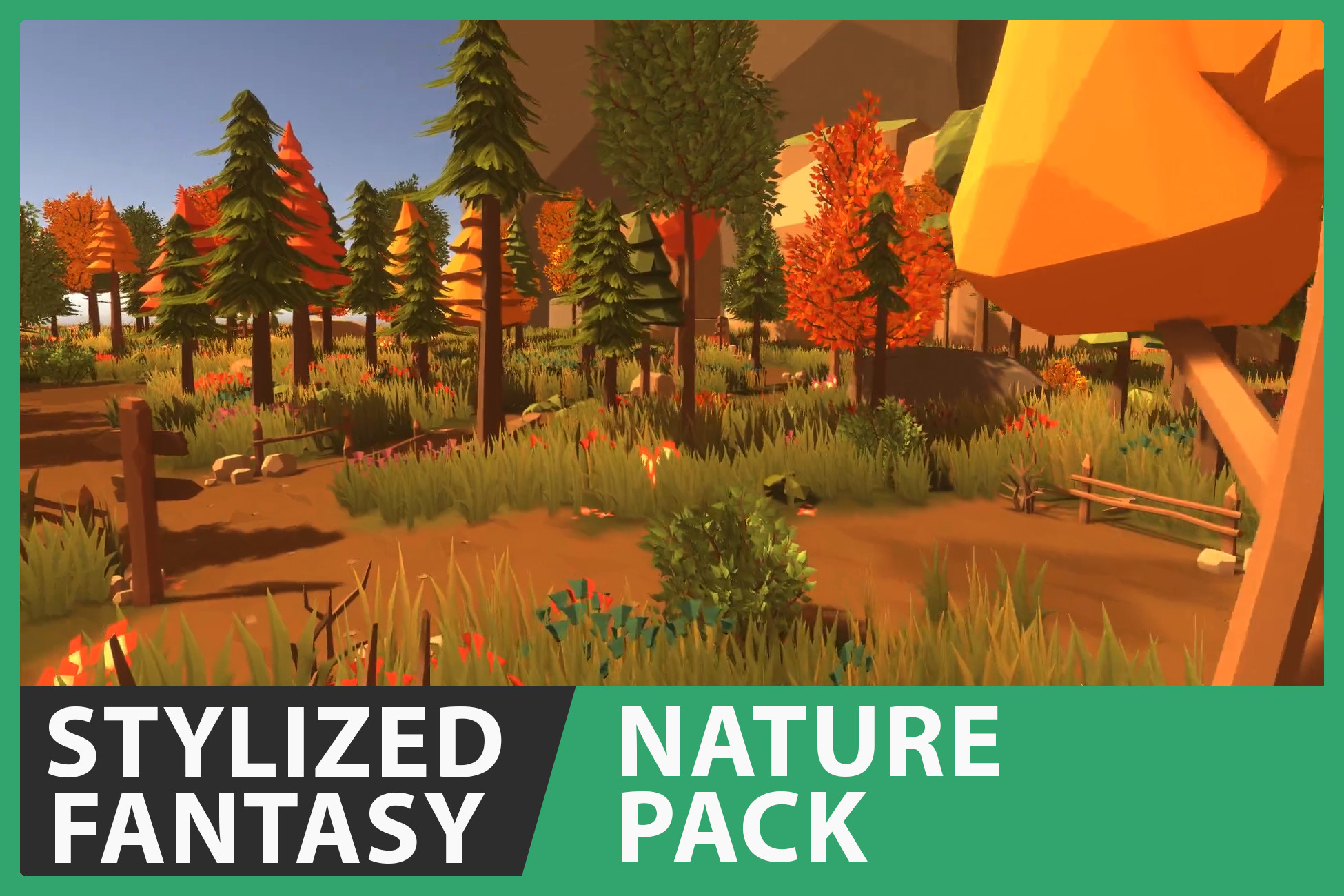 Stylized Fantasy - Nature Pack With Seasons