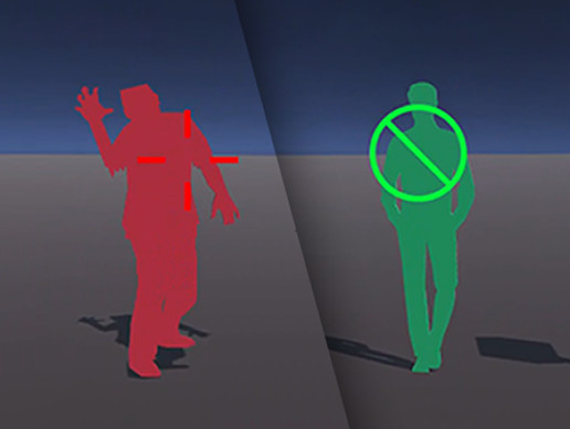 Dynamic Crosshair Color Change