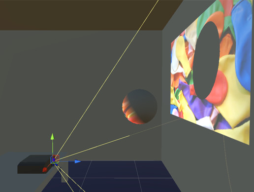 Projector Simulator