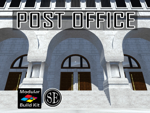 Post Office Modular Build Kit