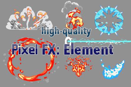 2D Pixel FX:Element
