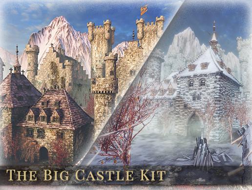 پکیج محیط یونیتی The Big Castle Kit