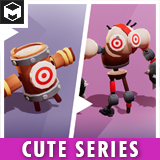 Target Training Dummy Evolution Pack Cute Series
