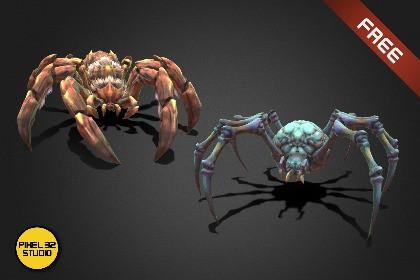 Fantasy Creature - Battle Spider