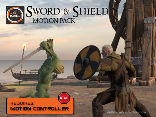 Sword & Shield Motion Pack