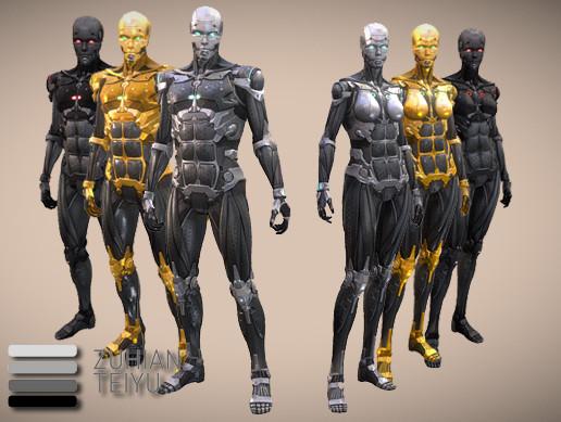 HiTech: Cyborgs