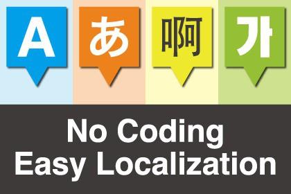 No Coding Easy Localization