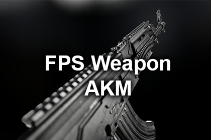 Free FPS Weapon - AKM