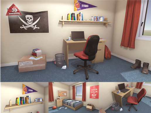 University Student Room
