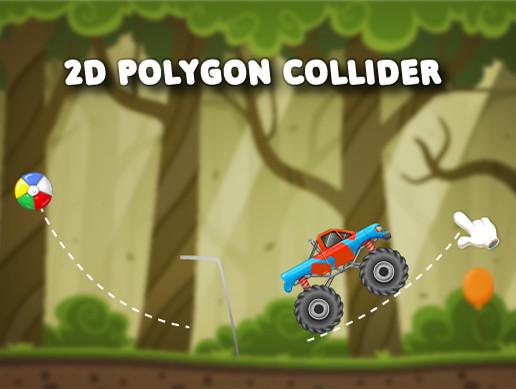 2D Polygon Line Collider Template