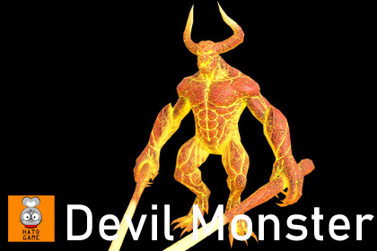 Devil boss monster