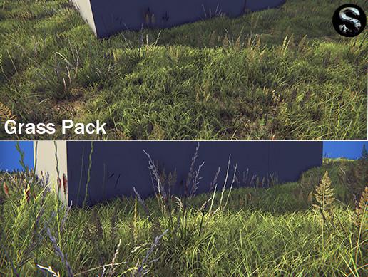 Grass Pack - Asset Store