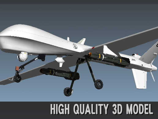 3D Unmanned bomber