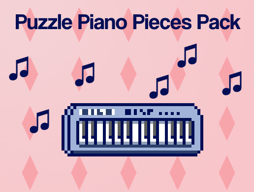 Puzzle Piano Pieces Pack