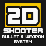 2D Shooter Bullet and Weapon System