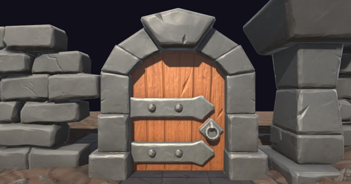 Stylized Dungeon - Free Pack
