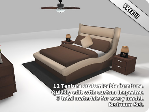 Customizable Bedroom