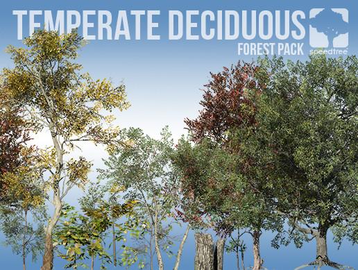 Temperate Deciduous Forest Pack