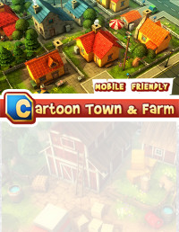 Cartoon Town and Farm