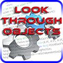Look through objects