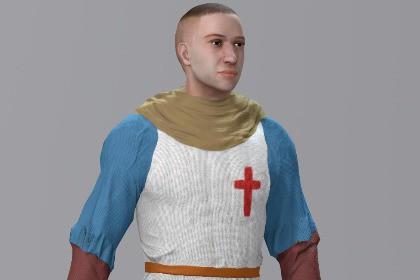 DireWarrior, Medieval Archer