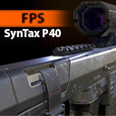 FPS SynTax P40 - Model & Textures
