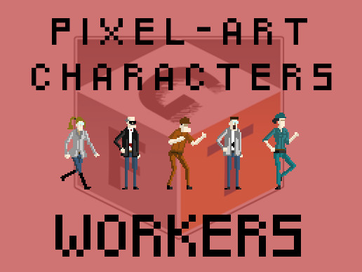 Pixel Art Characters - Workers pack