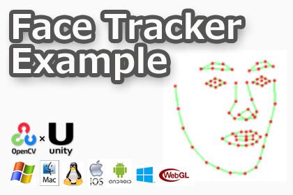 FaceTracker Example