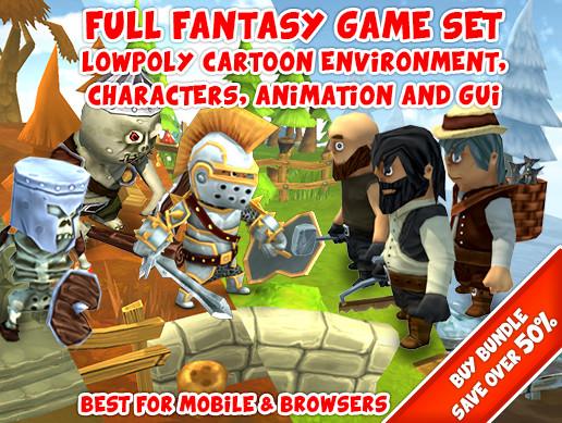Full Fantasy Game Set / Bundle