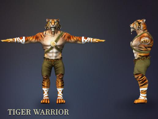 Tiger Warrior Pack