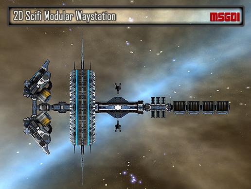 2D Modular Waystation