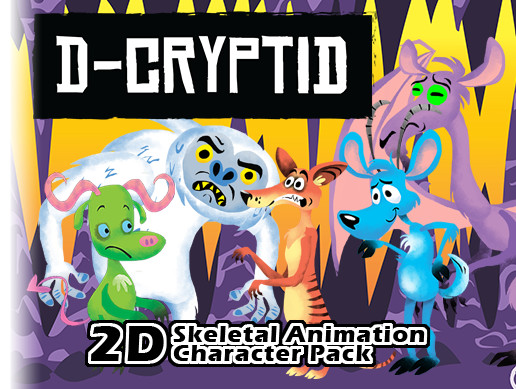 2D Animated Creature Character Pack - Asset Store
