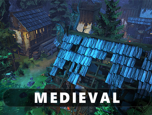 Medieval Asset Pack - East European