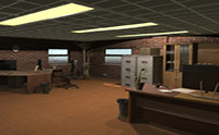 PBR Modular Office Pack And Interior