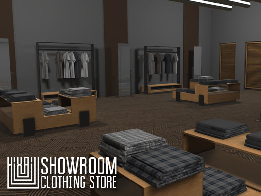 Showroom - clothing store