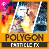 POLYGON Particle FX - Low Poly 3D Art by Synty