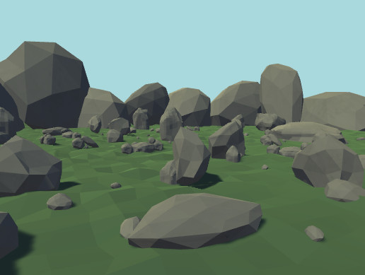 Low Poly Stone Collection