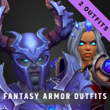 Stylized Fantasy Outfits Pack