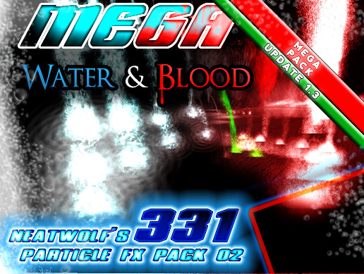 WATER & BLOOD MEGABundle 02 (331+ VFX)