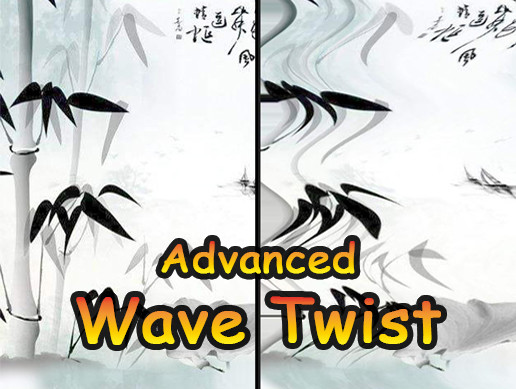 Camera Effect Water Wave