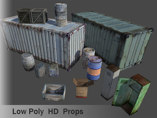 Low Poly Props Pack