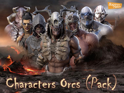 PBR Characters Orcs (Pack)