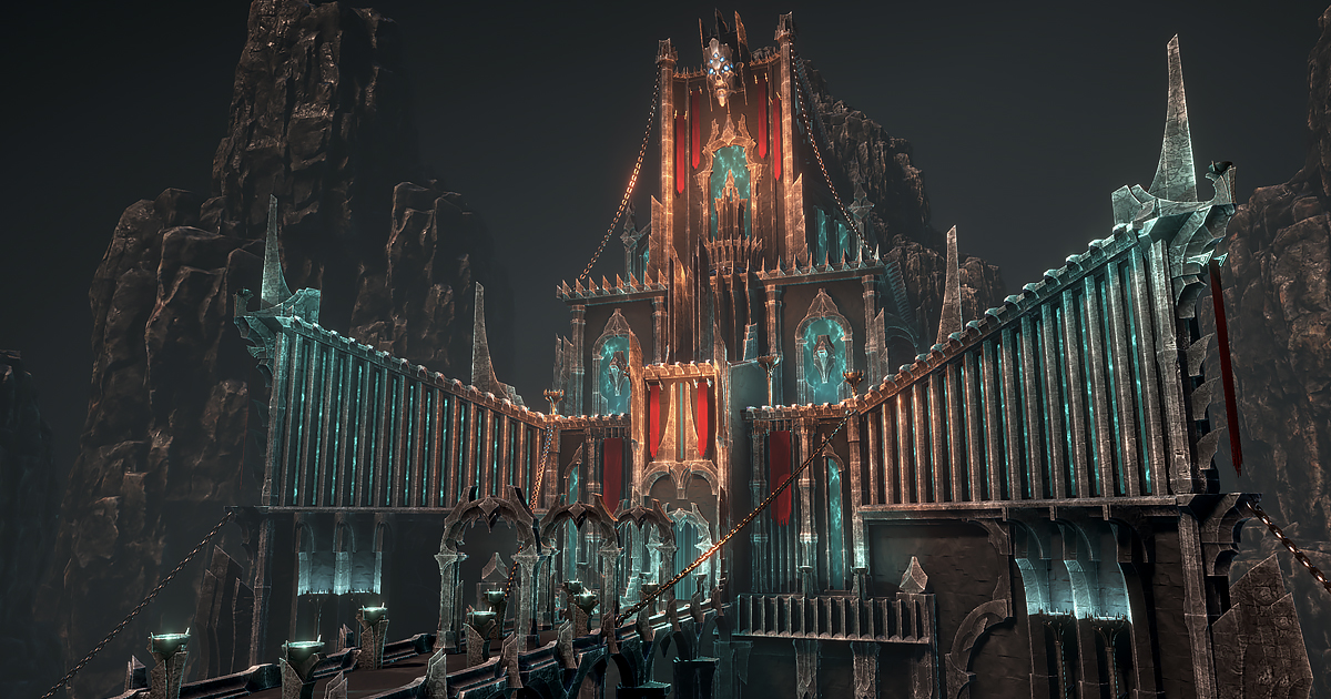 Dark architecture set