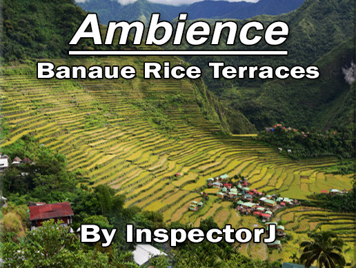 Ambience - Banaue Rice Terraces (Free Sample Pack)