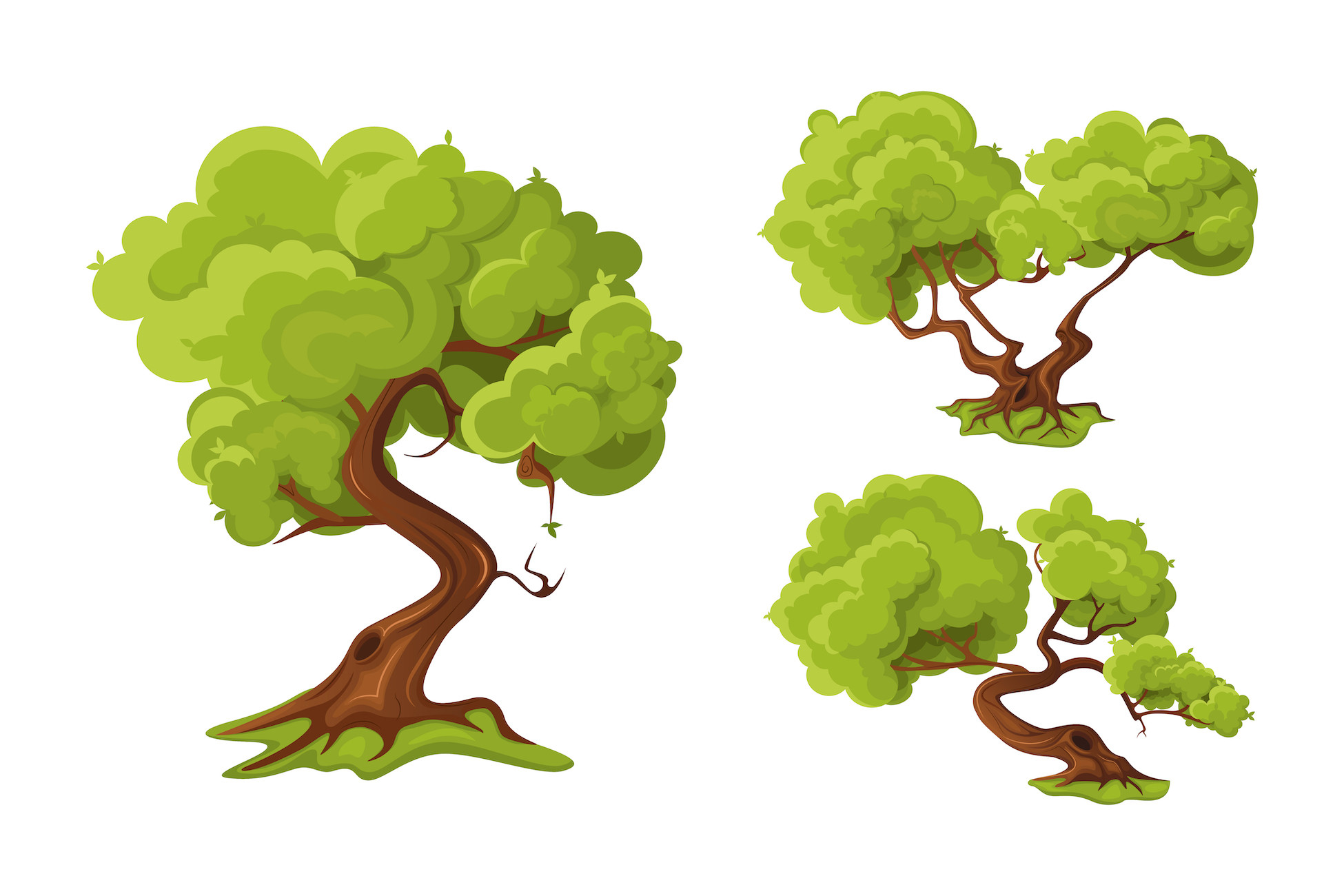 2D Tree Set Free