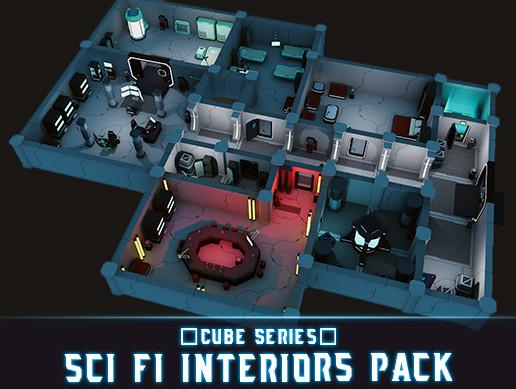 CUBE - Sci Fi Interiors Pack - Asset Store