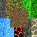 Tileable Hand Painted Ground Texture Pack 2