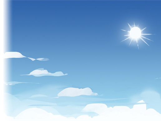Cartoon Skybox - Sunny
