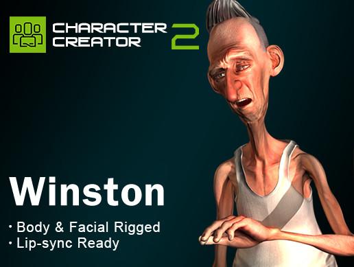 Winston - iClone Character - Asset Store